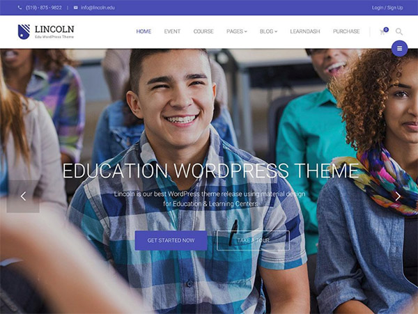 Lincoln WP Theme