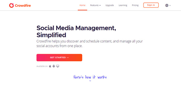 CrowdFire: The Only Social Media Manager
