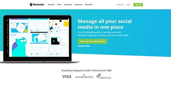 Hootsuite: Social Media Marketing & Management Dashboard