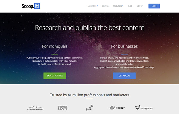 Scoop.it - Content Curation Tool