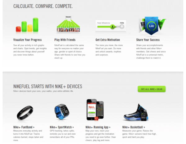 Gamification in Nike